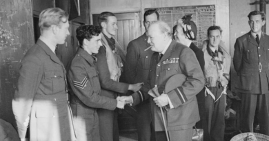 Two eventful days for Manston, 28th August 1940 and 1942 – Churchill's visit and 56 emergency landings