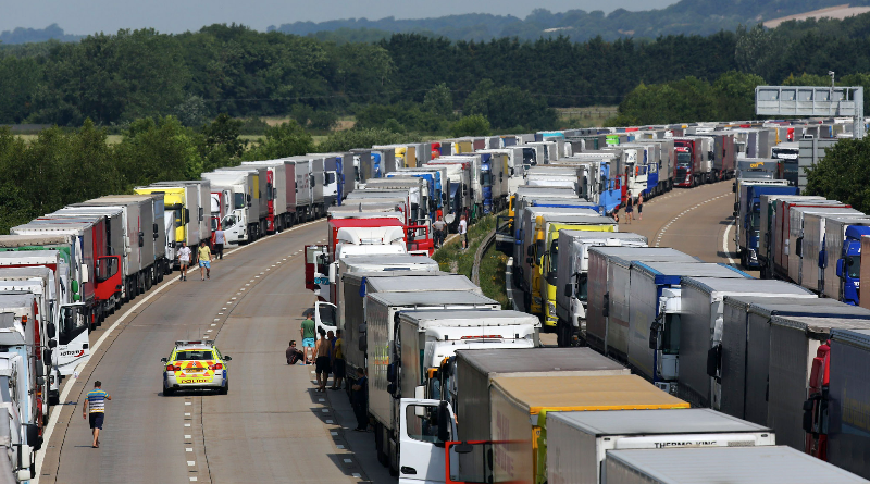 Operation Stack lorry park abandoned – Manston Airfield use to be extended